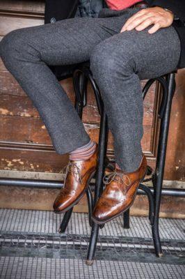 出来る男の勝負靴「グッドイヤーウェルト製法」モラルコード BRICE 外羽根 ブルッチャー