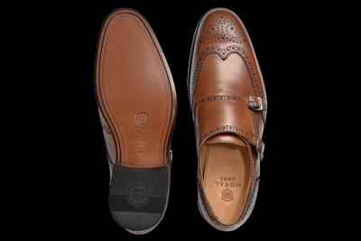出来る男の勝負靴「グッドイヤーウェルト製法」モラルコードグッドイヤー製法 AUGUST ダブルモンクストラップ