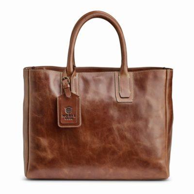 ビジネスにも使いやすい、茶系レザートートバッグはこれ! クロスビー 高品質