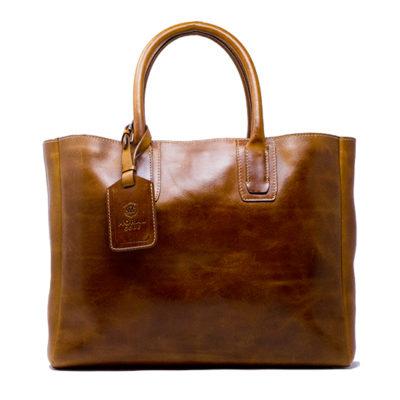 【メンズ】ビジネストートバッグ大人の仕事鞄CROSBY クロスビー CAMEL キャメル茶