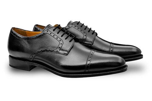 グットイヤーウェルト 外羽根 ブラック黒 ドレス ビジネス HUGO MORAL CODE モラルコード