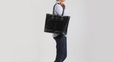 日本製ナイロン使用で軽量トートバッグ外側ポケットも充実していて通勤に最適使いやすいビジネスバッグ