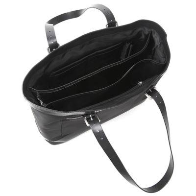 多機能ナイロントート充実の収納ポケット。長さ調節可能(20cm~28cm)ハンドルは、どんなシーンでも最適。