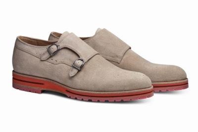 【メンズ】革靴ダブルモンクは、カジュアルスタイルの大本命 ガンナーサンドベージュ GUNNAR SAND
