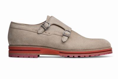 【メンズ】革靴ダブルモンクは、カジュアルスタイルの本命 ガンナーサンドベージュ GUNNAR SAND