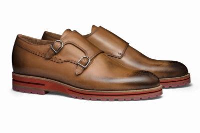 【メンズ】革靴ダブルモンクは、カジュアルスタイルの大本命 ガンナータン茶 GUNNAR TAN