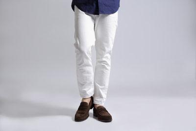 【メンズ】履きやすいスエードローファー 本当のアメリカンカジュアル WALKER COFFEE
