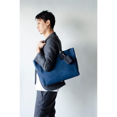 【プレゼント】レザートートバッグが男性に人気。CROSBY-II DENIM デニム