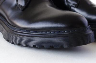 今流行の厚底ガラスレザーシューズCHASE: チェイス レースアップ・革靴カジュアル