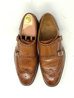 革靴お手入れ前の状態グッドイヤーウェルトモラルコード