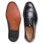 【メンズ】紳士革靴の定番ストレートチップブラックは、これ!