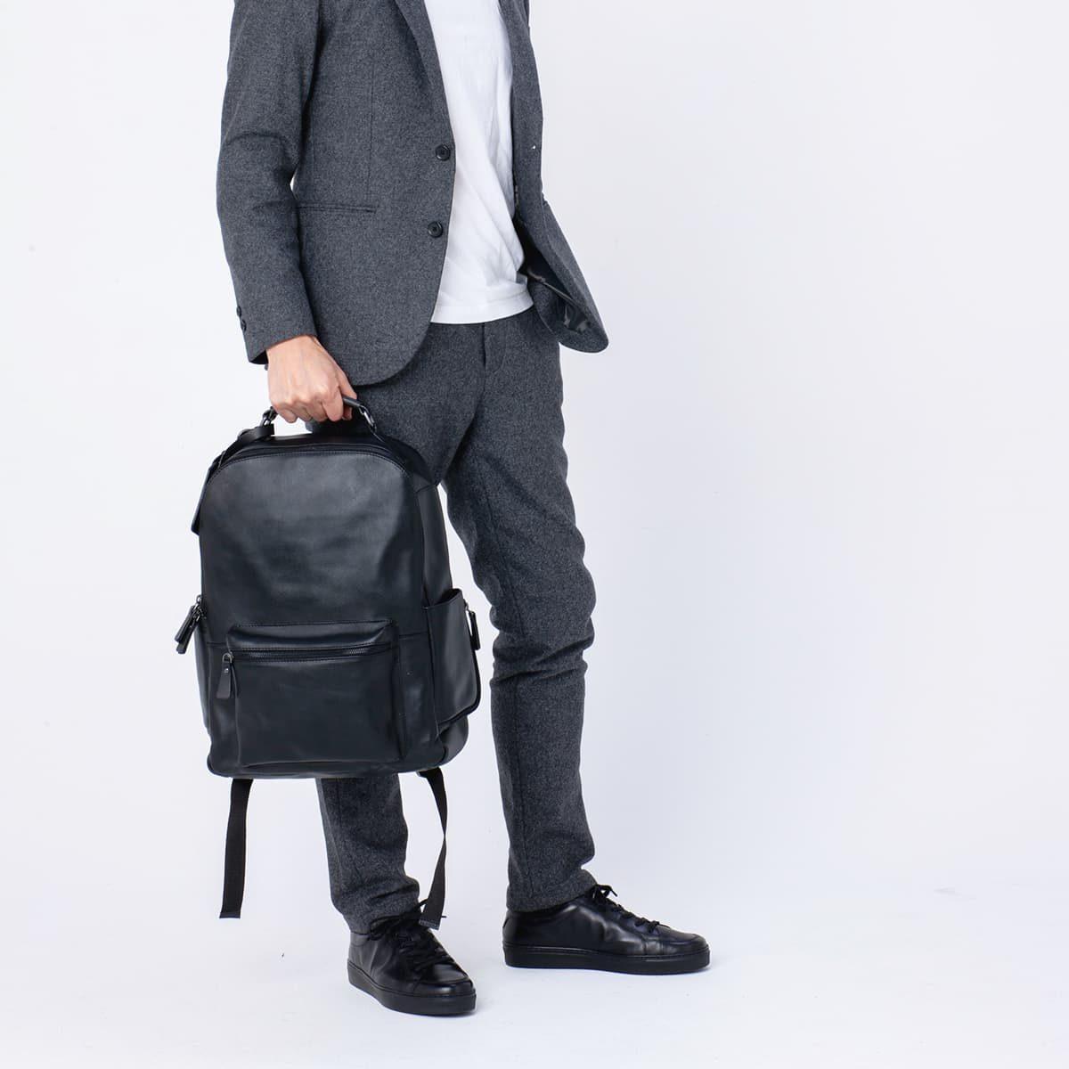 【レザー専門店】大人の品格ドレス顔スニーカー